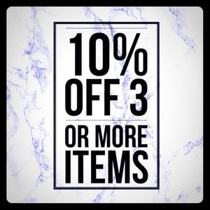 Other - 10%off 3 or more items